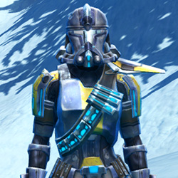 Galvanized Infantry Armor Set armor thumbnail.