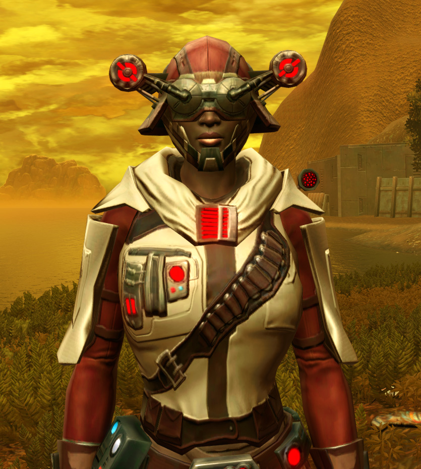Galvanized Manhunter Armor Set from Star Wars: The Old Republic.