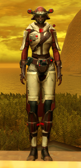 Galvanized Manhunter Armor Set Outfit from Star Wars: The Old Republic.