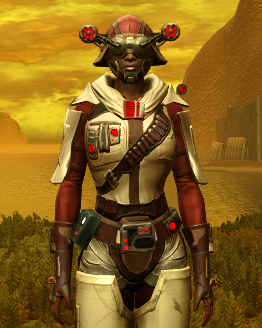 Galvanized Manhunter Armor Set Preview from Star Wars: The Old Republic.