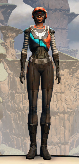GSI Infiltration Armor Set Outfit from Star Wars: The Old Republic.