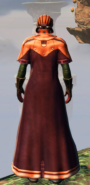 Gunslinger Elite Armor Set player-view from Star Wars: The Old Republic.