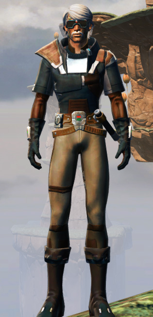 Gunslinger Armor Set Outfit from Star Wars: The Old Republic.