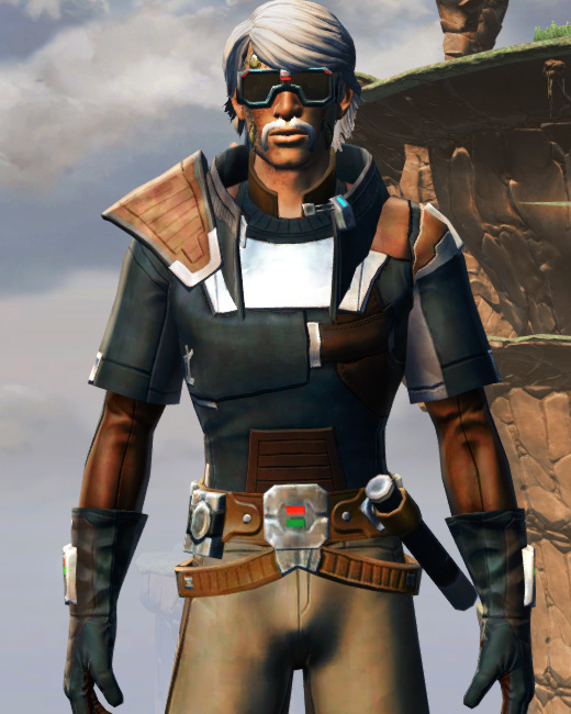 Gunslinger Armor Set Preview from Star Wars: The Old Republic.