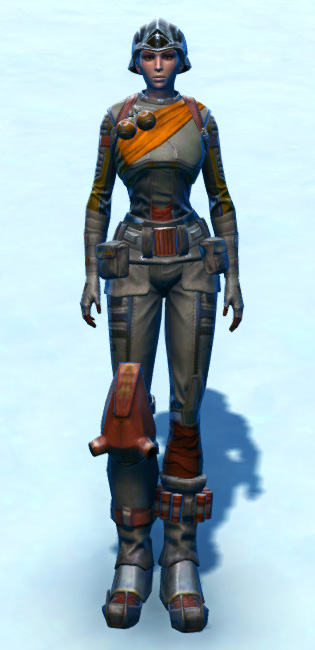 Hadrium Asylum Armor Set Outfit from Star Wars: The Old Republic.
