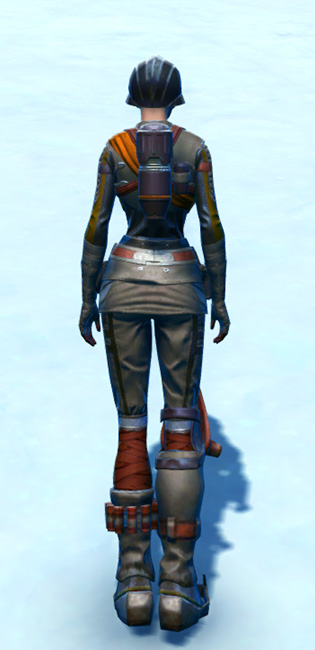 Hadrium Asylum Armor Set player-view from Star Wars: The Old Republic.