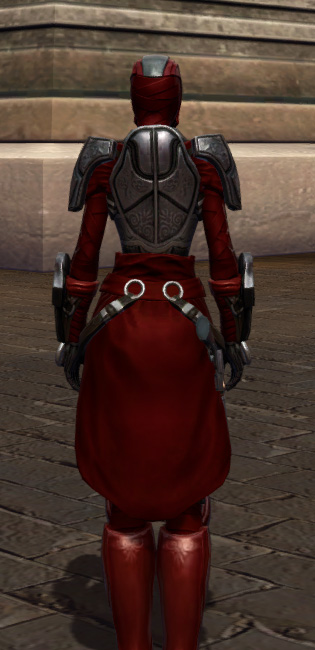 Hunter Killer Armor Set player-view from Star Wars: The Old Republic.