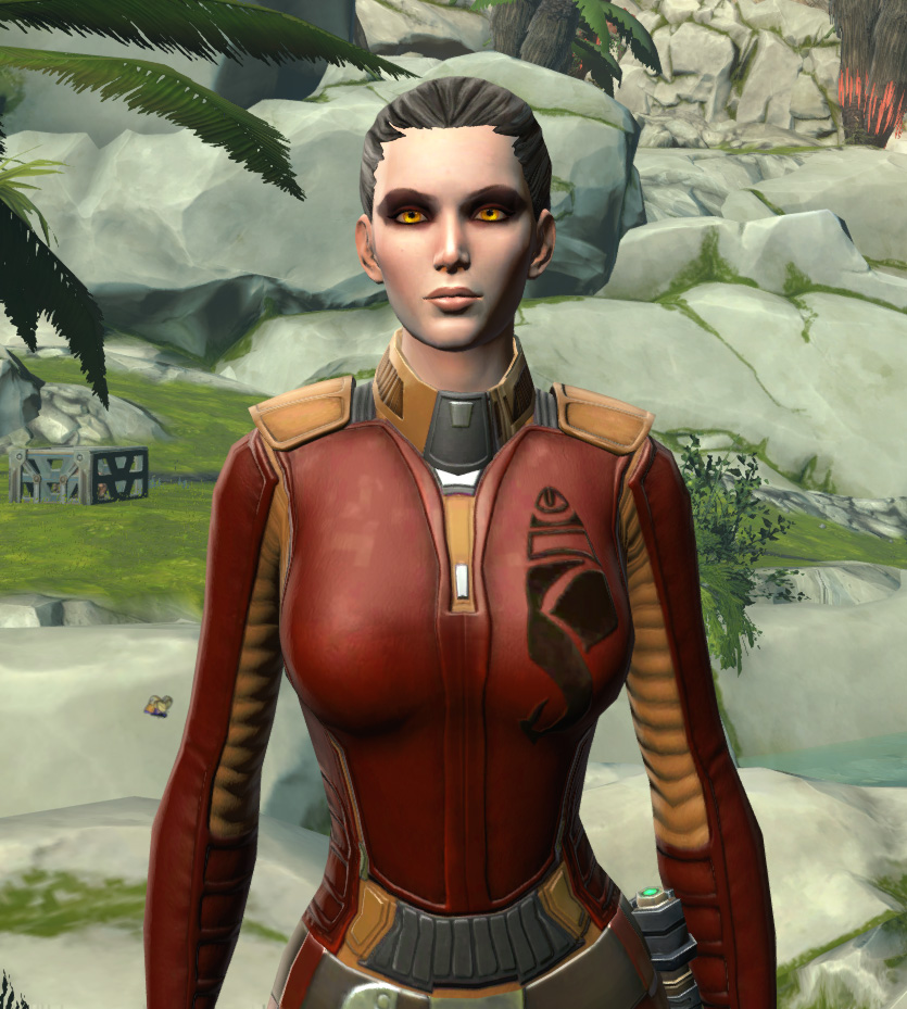 Hutt Cartel Corporate Shirt Armor Set from Star Wars: The Old Republic.