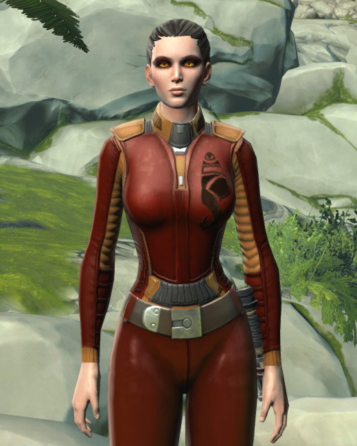 Hutt Cartel Corporate Shirt Armor Set Preview from Star Wars: The Old Republic.