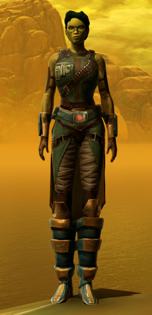 Hydraulic Press Armor Set Outfit from Star Wars: The Old Republic.