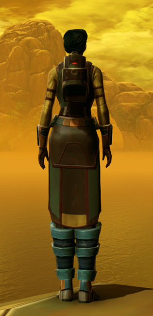Hydraulic Press Armor Set player-view from Star Wars: The Old Republic.