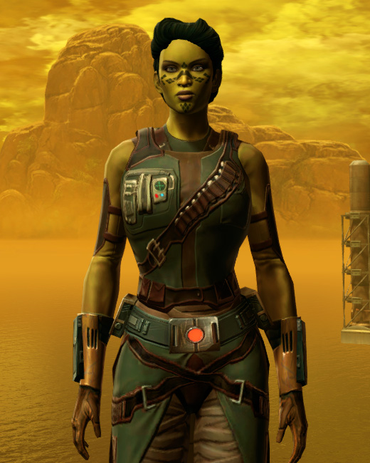 Hydraulic Press Armor Set Preview from Star Wars: The Old Republic.