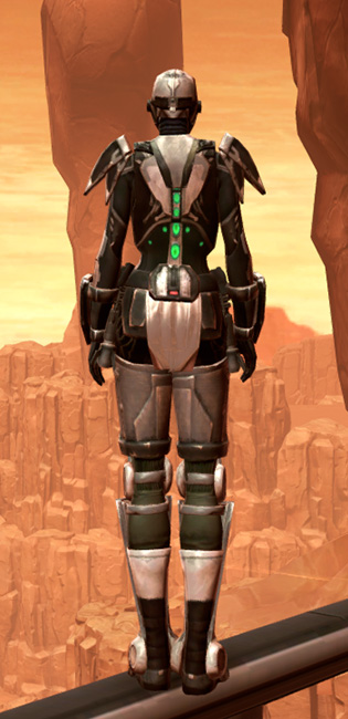 Hypercloth Aegis Armor Set player-view from Star Wars: The Old Republic.