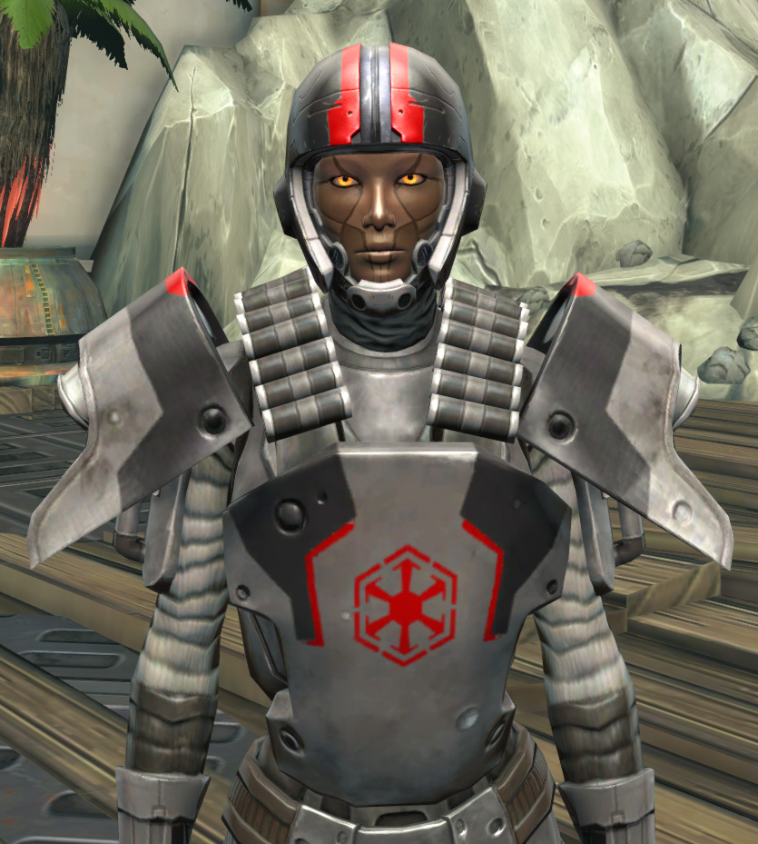 Imperial Huttball Away Uniform Armor Set from Star Wars: The Old Republic.