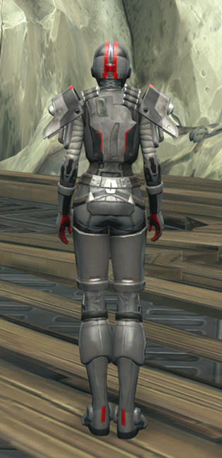 Imperial Huttball Away Uniform Armor Set player-view from Star Wars: The Old Republic.