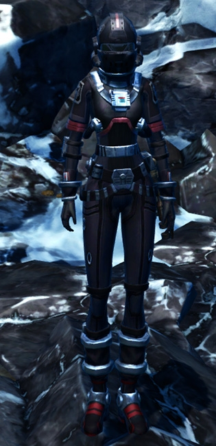 Imperial Pilot Armor Set Outfit from Star Wars: The Old Republic.