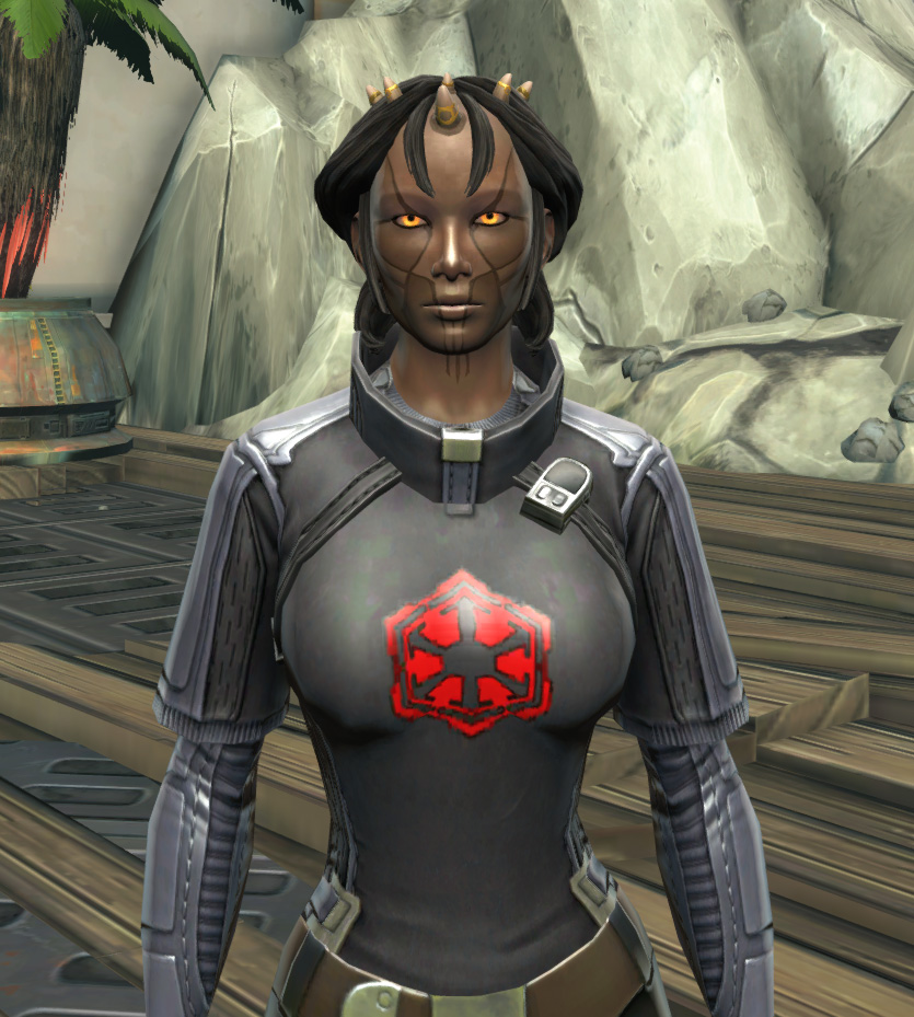 Imperial Practice Jersey Armor Set from Star Wars: The Old Republic.