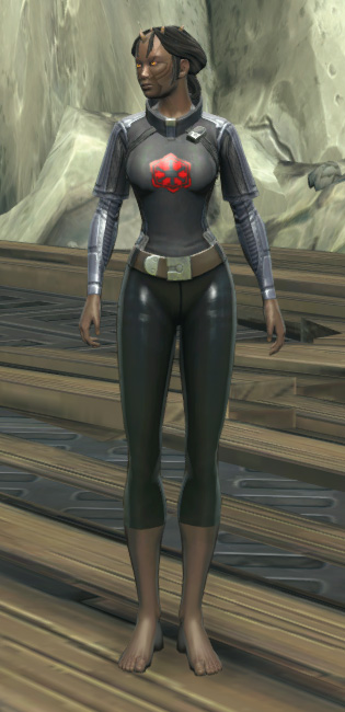 Imperial Practice Jersey Armor Set Outfit from Star Wars: The Old Republic.