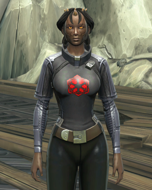Imperial Practice Jersey Armor Set Preview from Star Wars: The Old Republic.