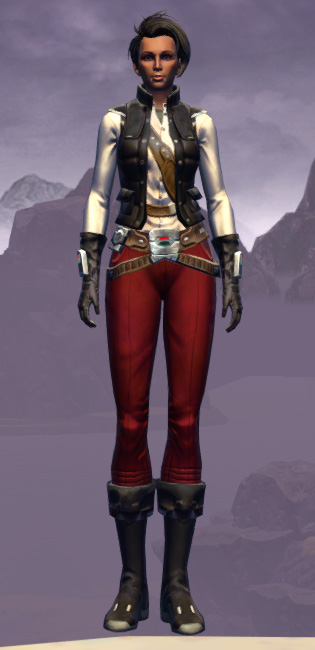 Interstellar Privateer Armor Set Outfit from Star Wars: The Old Republic.