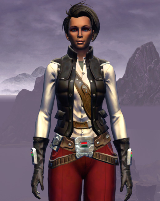 Interstellar Privateer Armor Set Preview from Star Wars: The Old Republic.