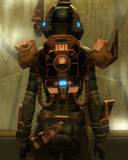 Iokath MK-5 Supercommando Armor Set Back from Star Wars: The Old Republic.