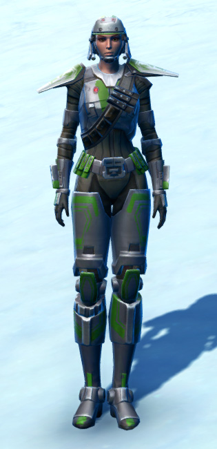 Ironclad Soldier Armor Set Outfit from Star Wars: The Old Republic.