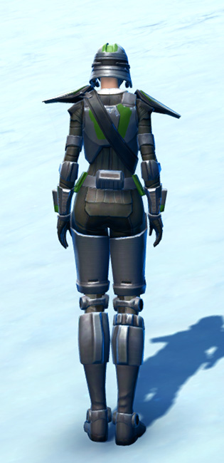 Ironclad Soldier Armor Set player-view from Star Wars: The Old Republic.