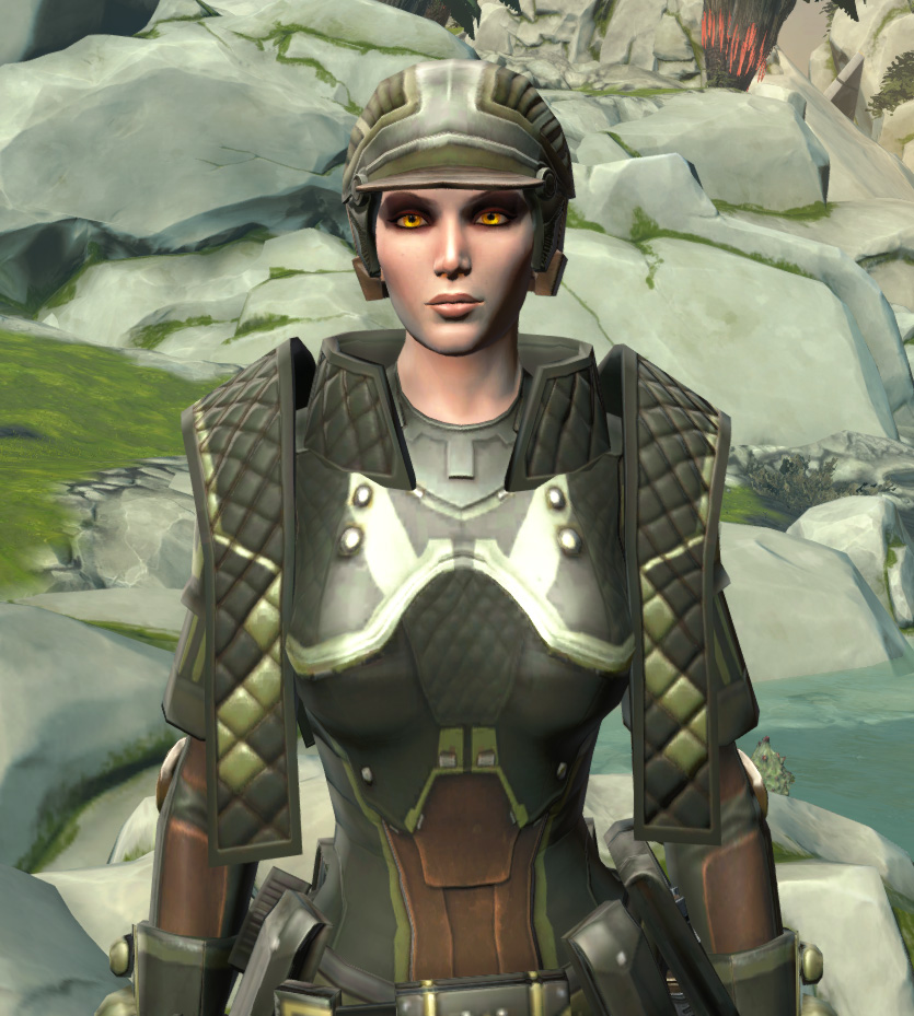 Jungle Ambusher Armor Set from Star Wars: The Old Republic.