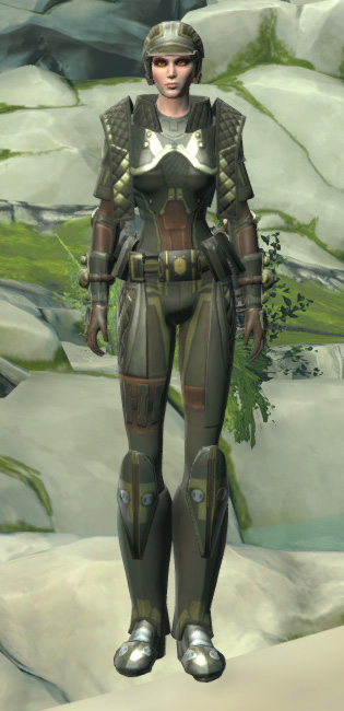 Jungle Ambusher Armor Set Outfit from Star Wars: The Old Republic.