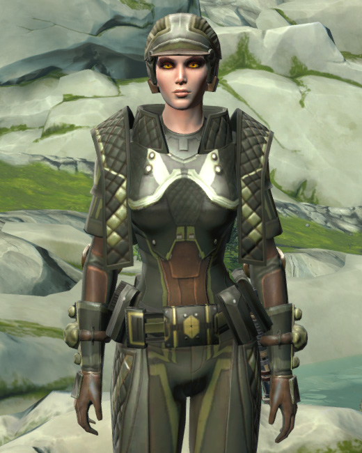 Jungle Ambusher Armor Set Preview from Star Wars: The Old Republic.