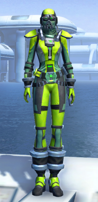 K-23 Hazmat Armor Set Outfit from Star Wars: The Old Republic.