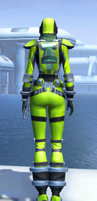 K-23 Hazmat Armor Set player-view from Star Wars: The Old Republic.