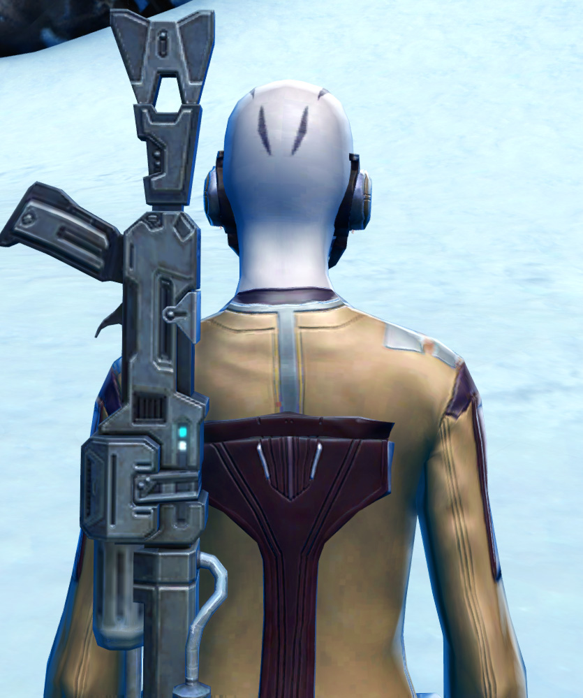 Laminoid Battle Armor Set detailed back view from Star Wars: The Old Republic.