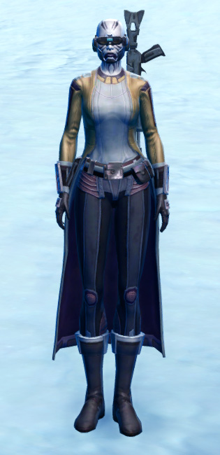 Laminoid Battle Armor Set Outfit from Star Wars: The Old Republic.