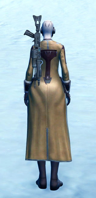Laminoid Battle Armor Set player-view from Star Wars: The Old Republic.