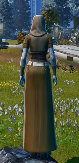 Light Devotee Armor Set player-view from Star Wars: The Old Republic.