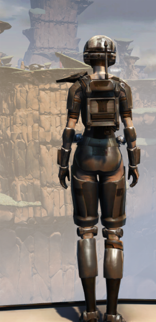 MA-44 Combat Armor Set player-view from Star Wars: The Old Republic.