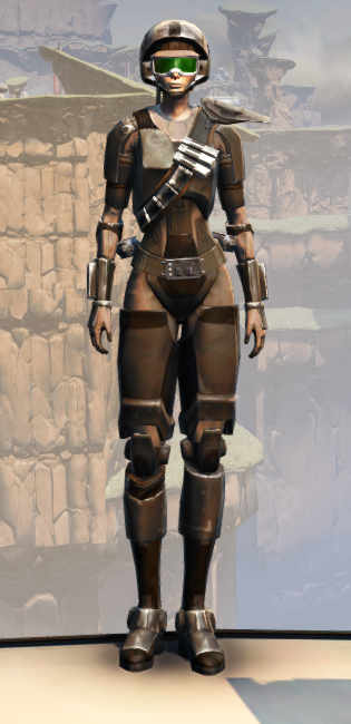 MA-44 Combat Armor Set Outfit from Star Wars: The Old Republic.