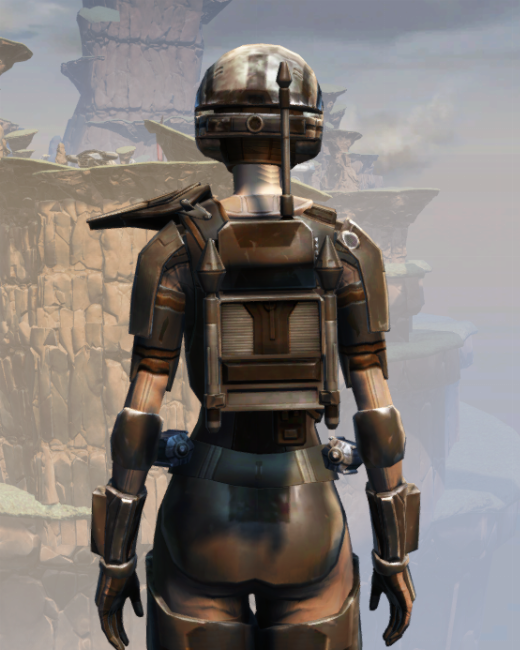 MA-44 Combat Armor Set Back from Star Wars: The Old Republic.