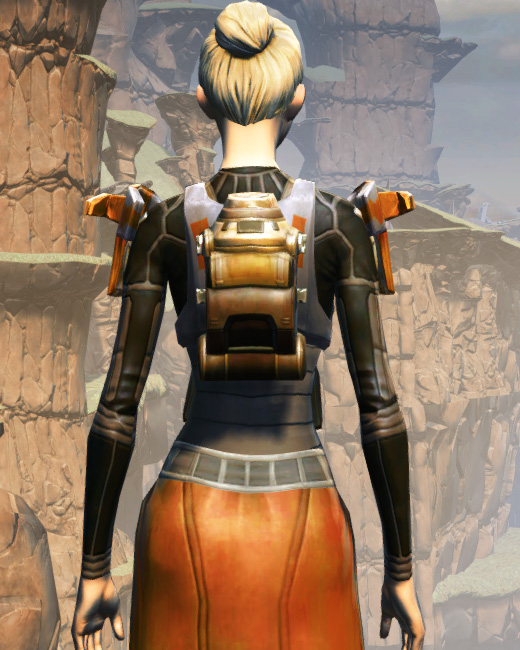 MA-52 Med-Tech Chestplate Armor Set Back from Star Wars: The Old Republic.