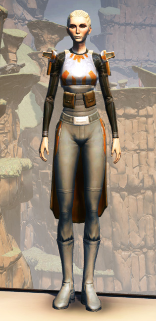 MA-52 Med-Tech Chestplate Armor Set Outfit from Star Wars: The Old Republic.