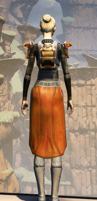MA-52 Med-Tech Chestplate Armor Set player-view from Star Wars: The Old Republic.