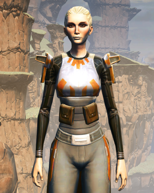 MA-52 Med-Tech Chestplate Armor Set Preview from Star Wars: The Old Republic.