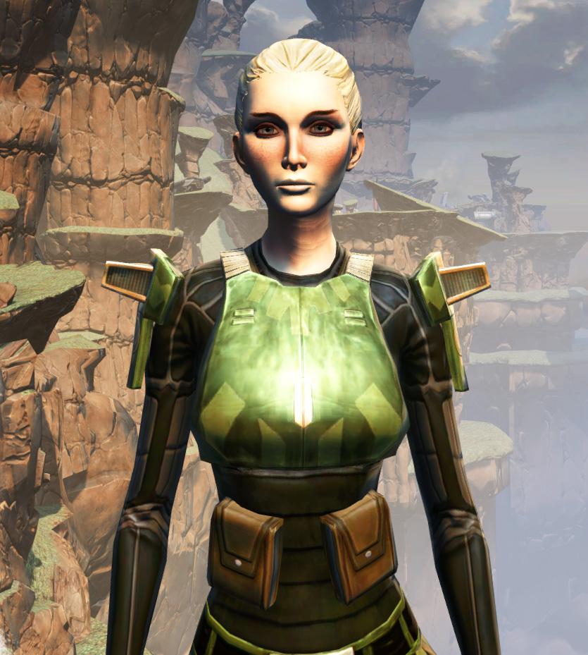 MA-53 Overwatch Chestplate Armor Set from Star Wars: The Old Republic.