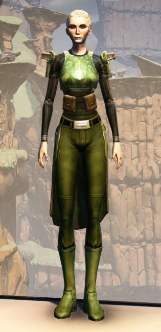 MA-53 Overwatch Chestplate Armor Set Outfit from Star Wars: The Old Republic.