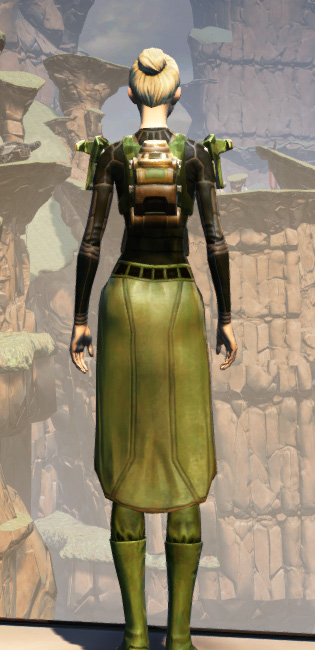 MA-53 Overwatch Chestplate Armor Set player-view from Star Wars: The Old Republic.