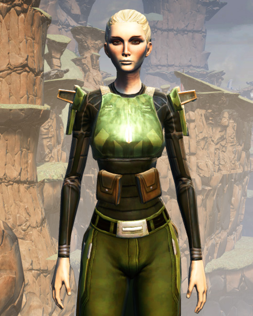 MA-53 Overwatch Chestplate Armor Set Preview from Star Wars: The Old Republic.