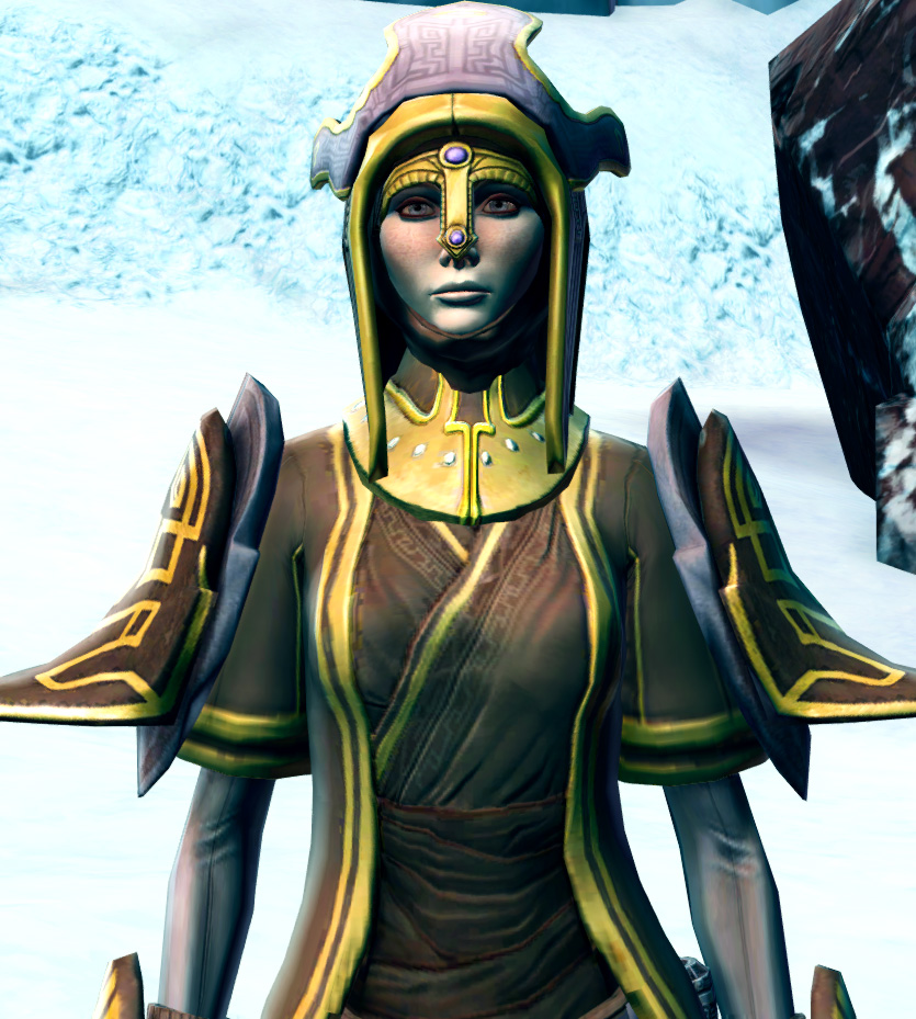 Majestic Augur Armor Set from Star Wars: The Old Republic.