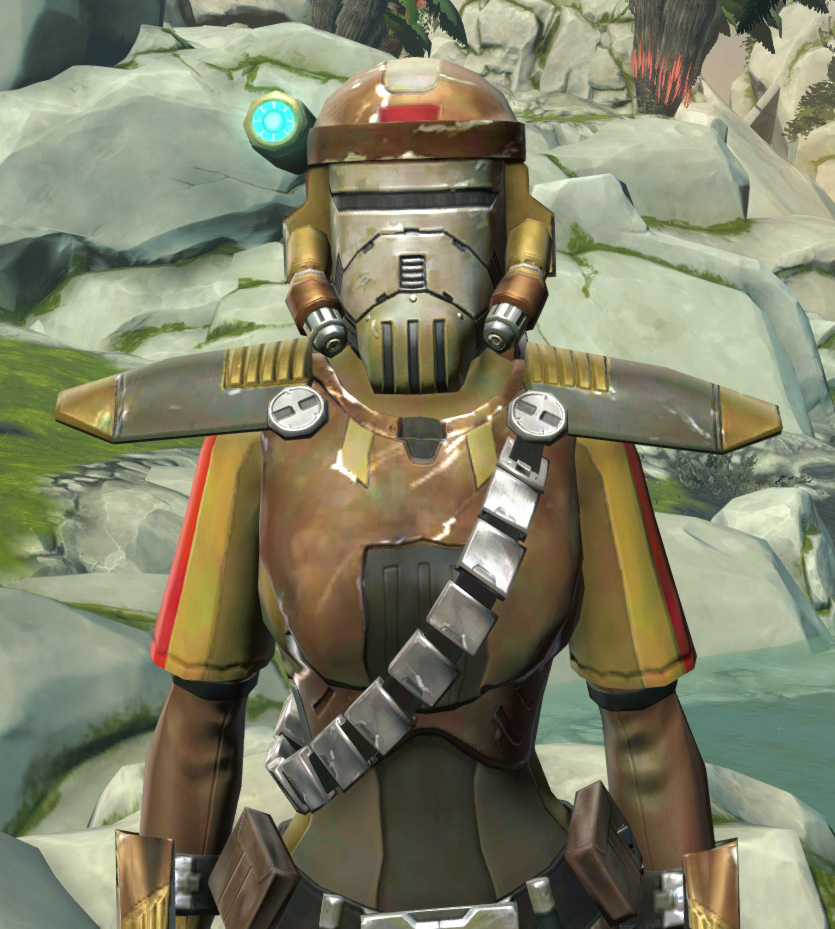 Mantellian Separatist Armor Set from Star Wars: The Old Republic.